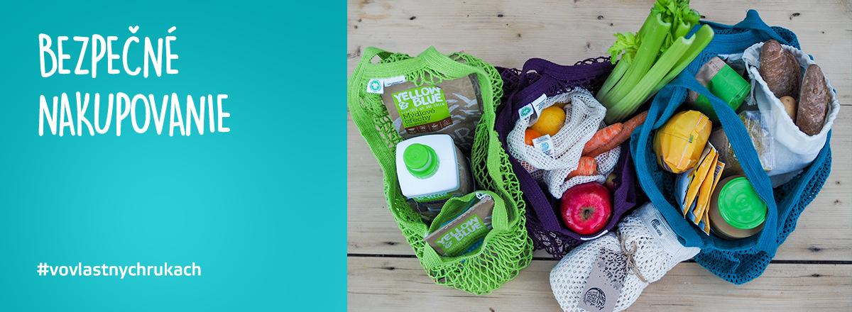 Ponúkame produkty pre bezpečné nakupovanie. #VoVlastnychRukach