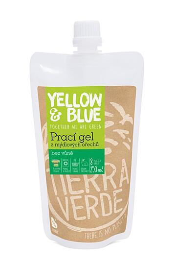 Prací gel bez vůně (sáček uzávěr 250 ml)