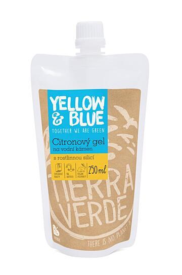 Citronový gel na vodní kámen (sáček uzávěr 250 ml)