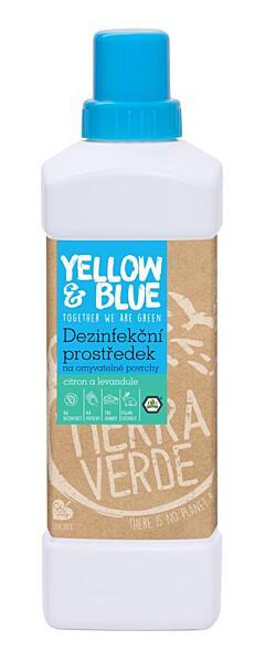 Dezinfekčný prostriedok na umývateľné povrchy citrón a levanduľa (fľaša 1 l)