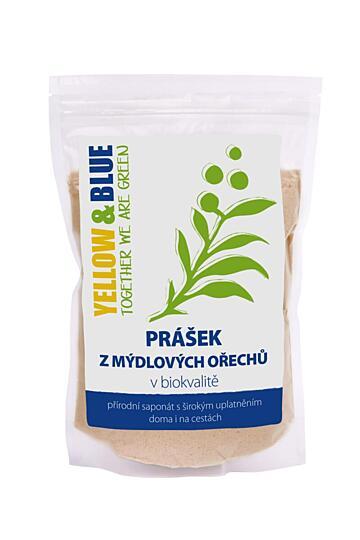 Prášek z mýdlových ořechů (sáček 100 g)