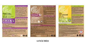 Etiketa na Šampon březový s vůní citronové trávy (s sebou pro zákazníka)