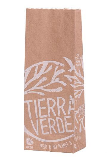 Sáček papírový Tierra Verde – bezobal 10 ks