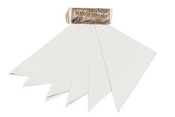 Kapesníky dámské – natural (28×28 cm) – bezobal 20 ks