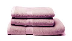 Sada dvou ručníků a osušky – fialová