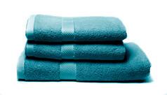 Sada dvou ručníků a osušky – tealová