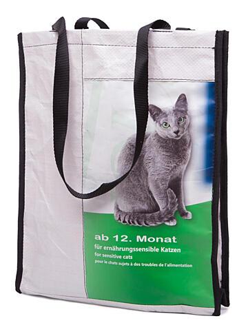 Recy taška kočkopes – malá (30 × 35 × 10 cm)