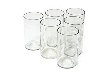 Sada sklenic Žízeň po životě – bílá (6 ks vysoká)