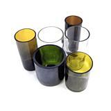 Sada sklenic Žízeň po životě – mix (6 ks různé barvy a tvary)